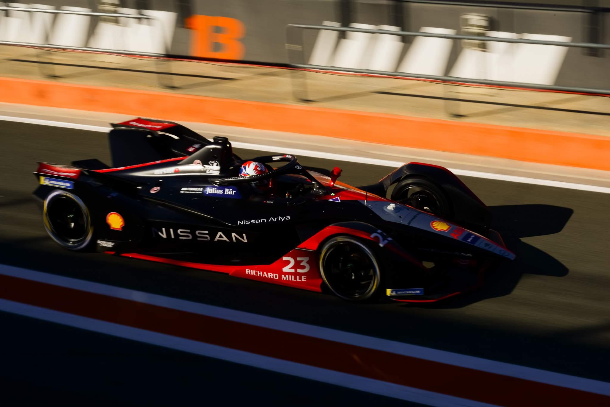 Sebastien Buemi Nissan Formula E testing