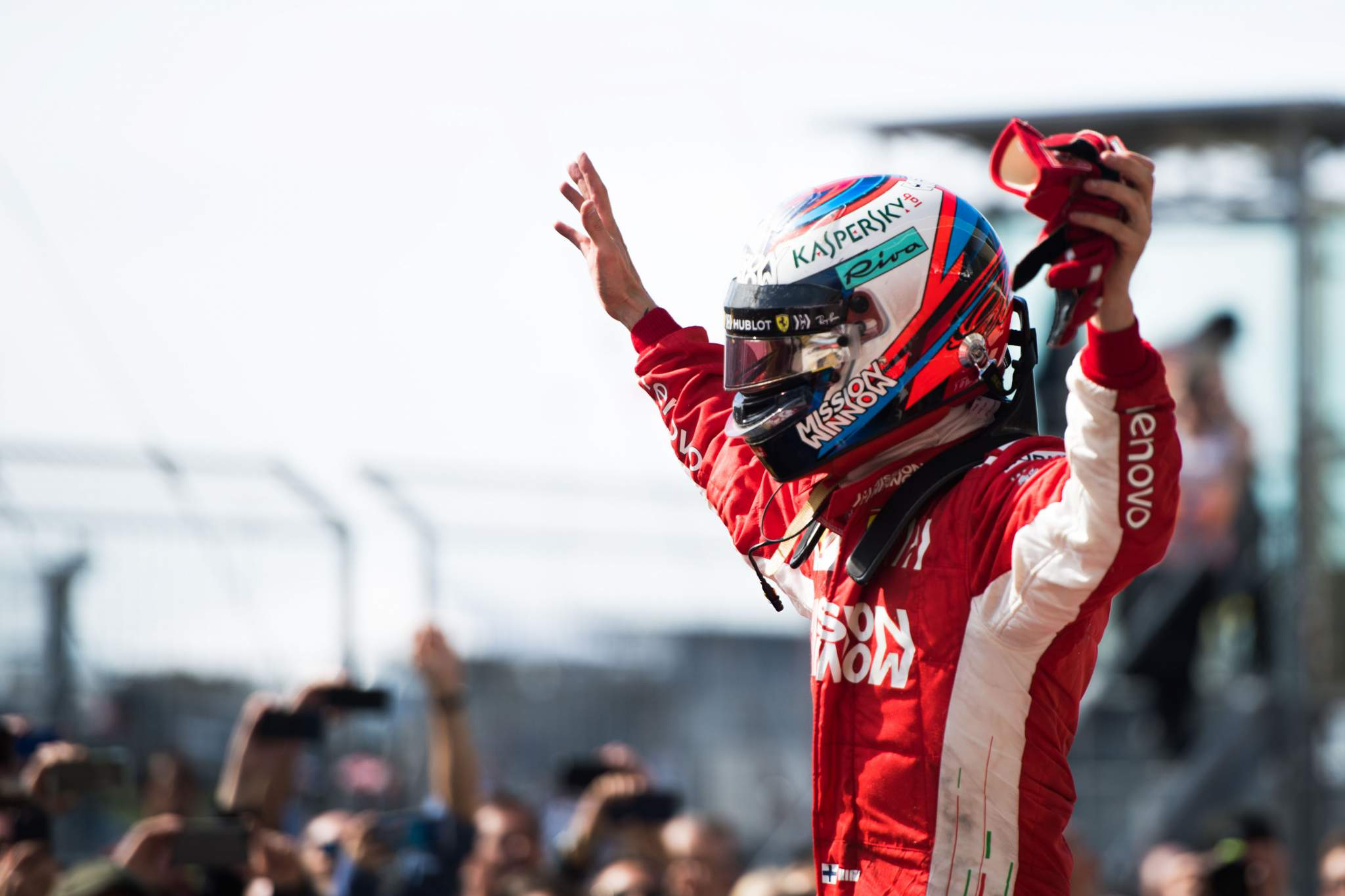 Kimi Raikkonen Ferrari 2018 US GP F1