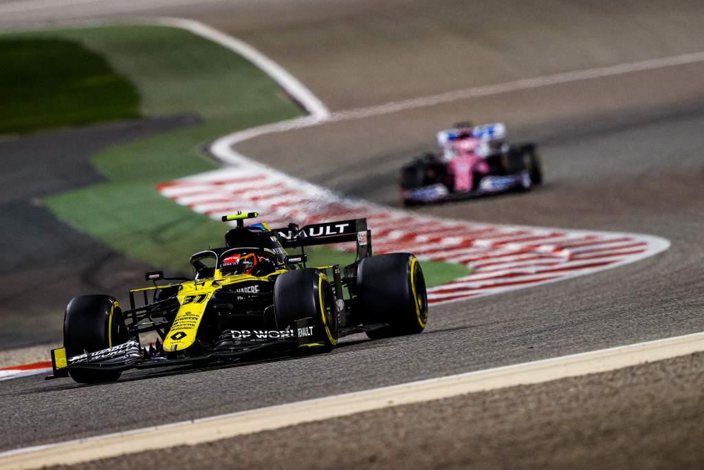 Esteban Ocon Renault Sakhir Grand Prix 2020