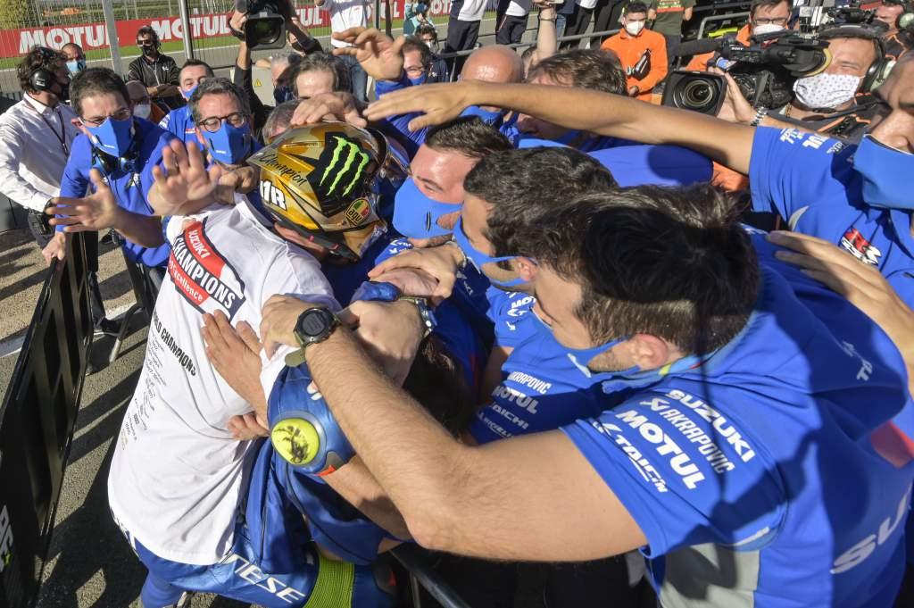 Joan Mir wins 2020 MotoGP title