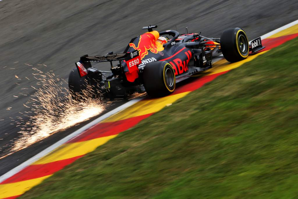 Motor Racing Formula One World Championship Belgian Grand Prix Practice Day Spa Francorchamps, Belgium