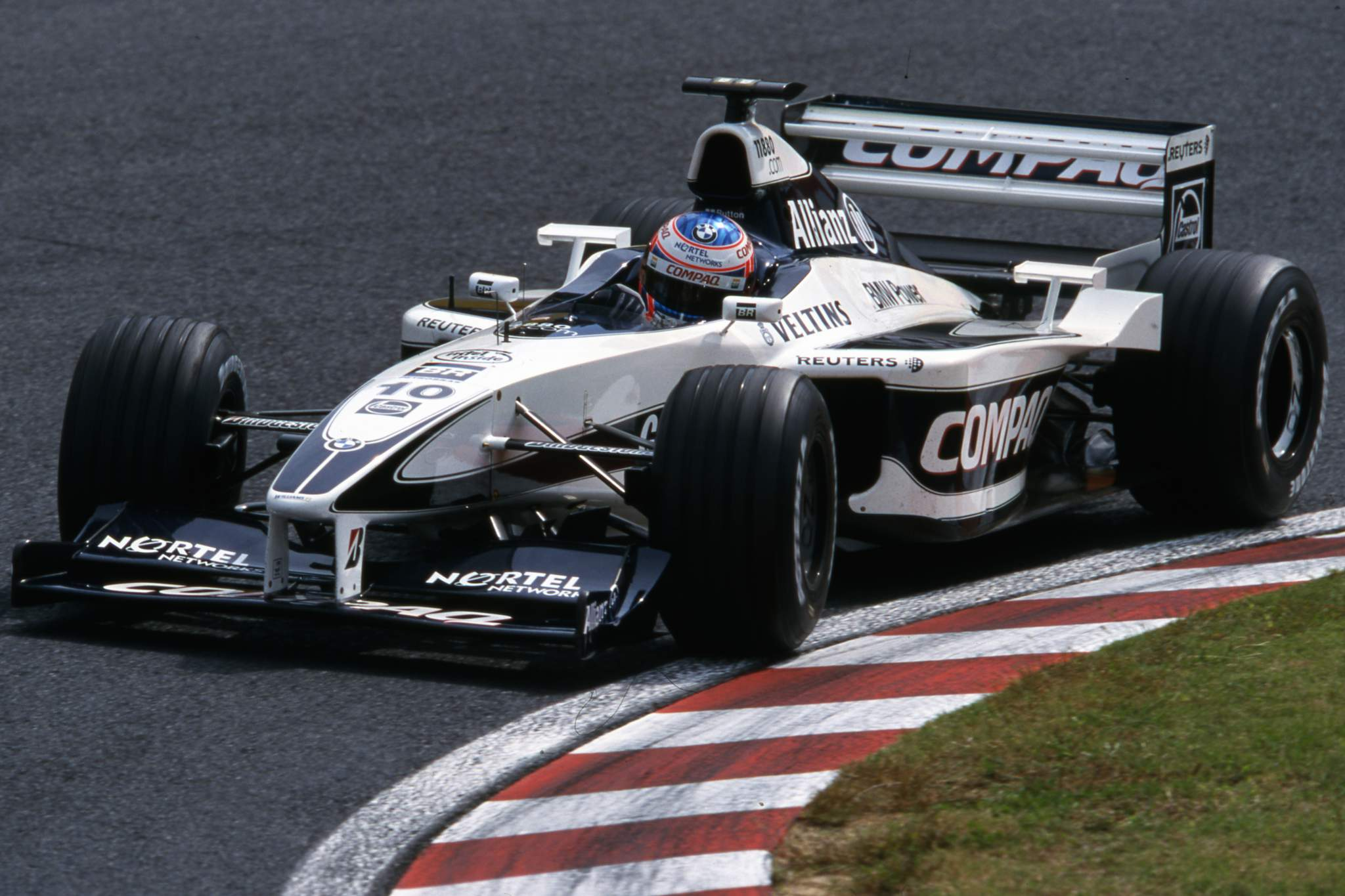 Jenson Button Williams 2000
