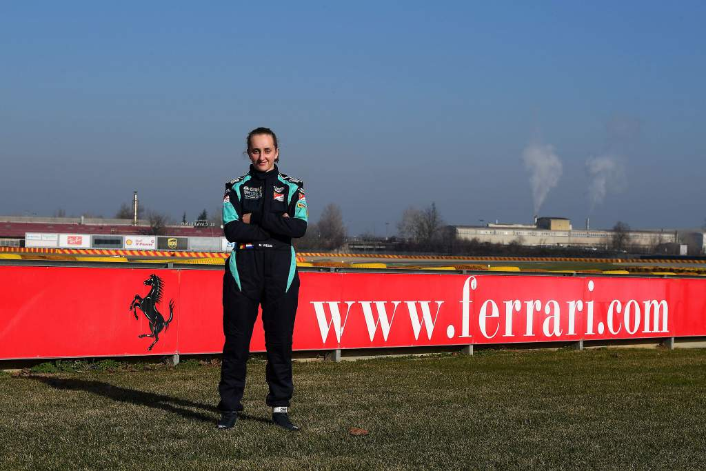 Ferrari announces first female member of its Driver Academy - The Race