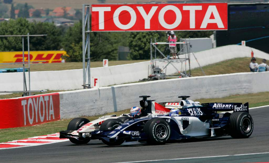 The bizarre tale of Button's two aborted Williams returns - The Race