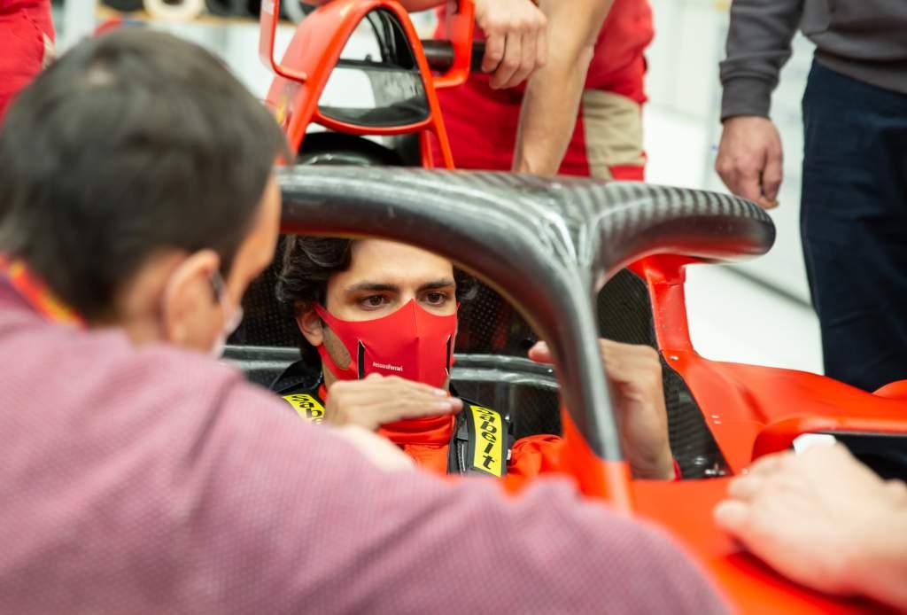 Ferrari announces plan for Sainz's first test - The Race