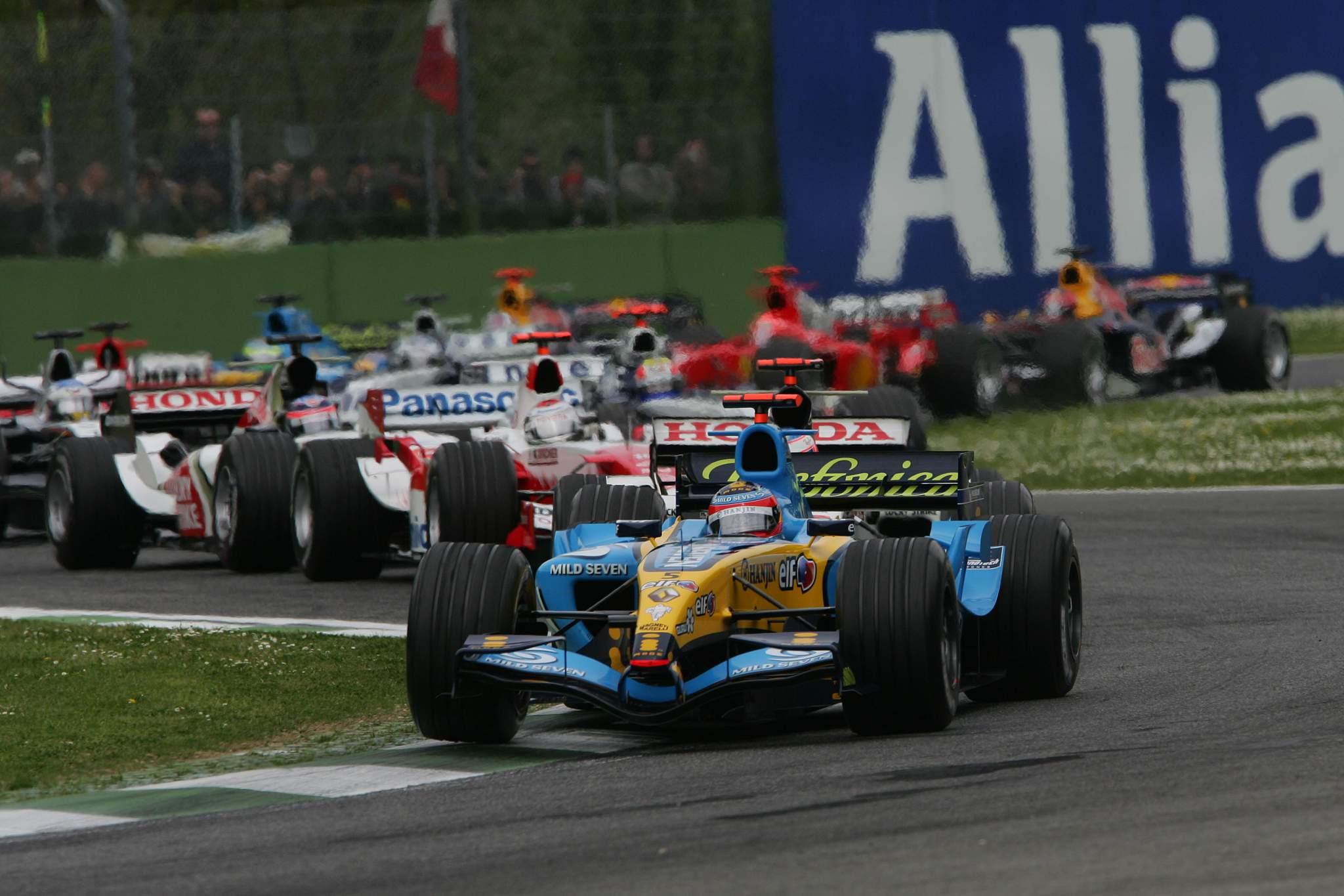 Fernando Alonso Imola 2005