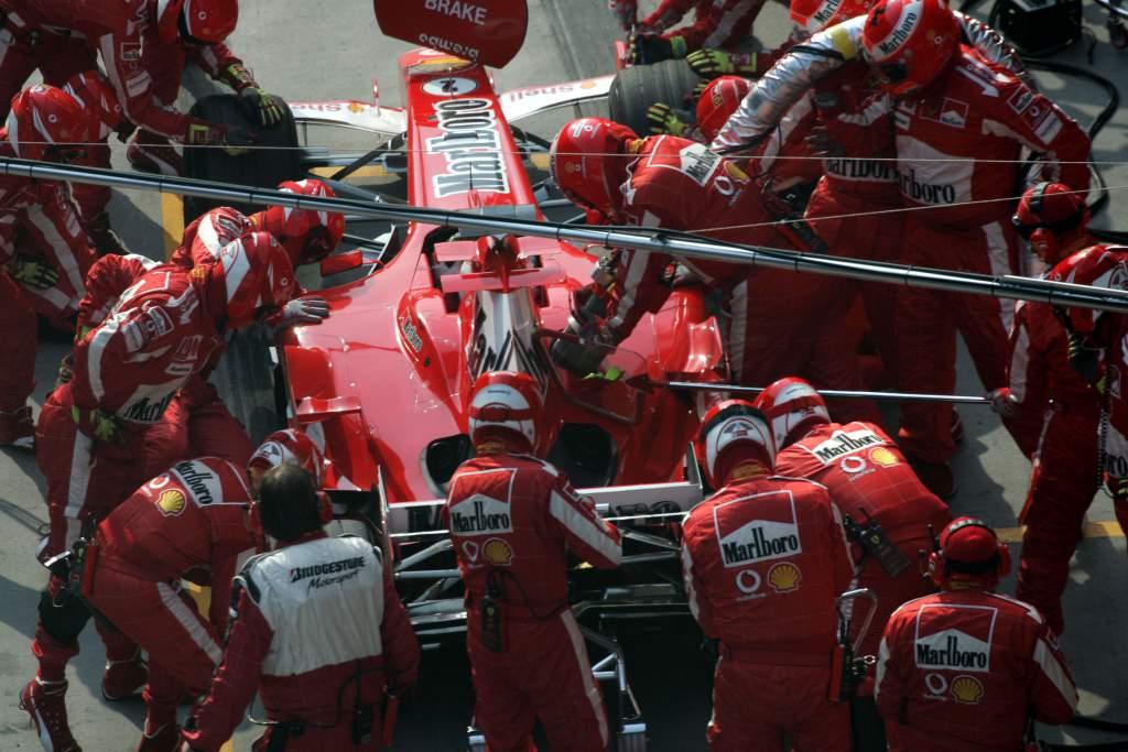 Rubens Barrichello Ferrari Chinese Grand Prix 2005 Shanghai