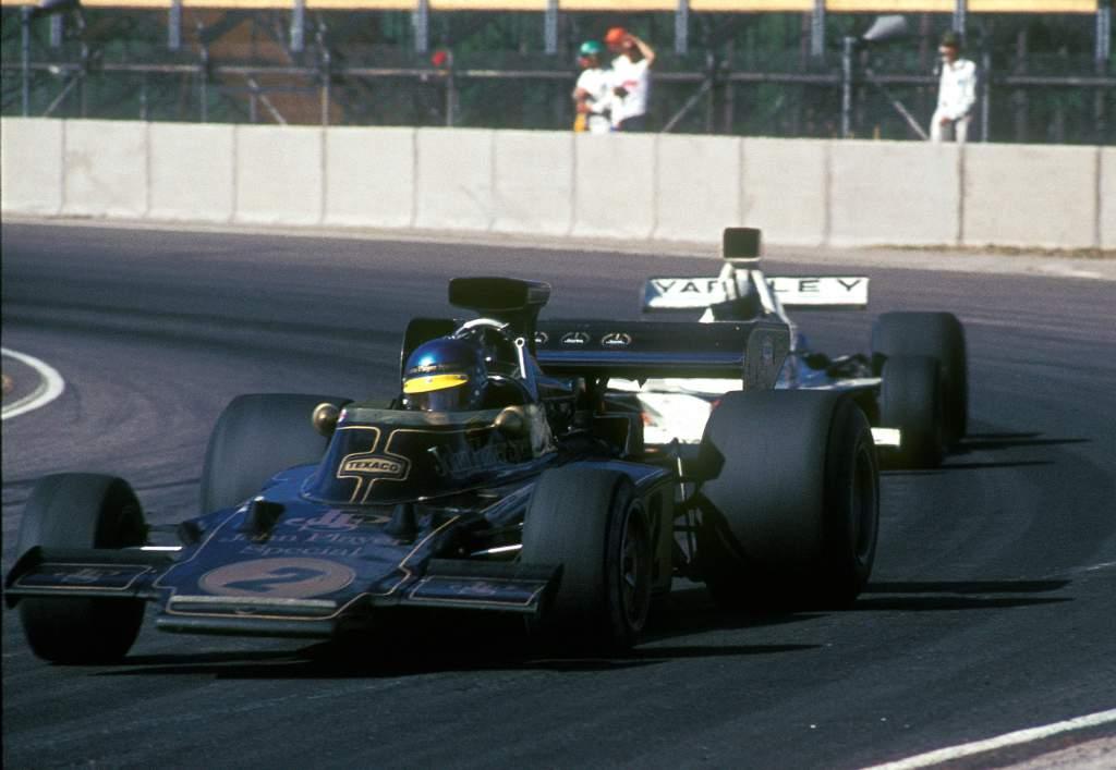 Ronnie Peterson Lotus 1973 Swedish Grand Prix Anderstorp