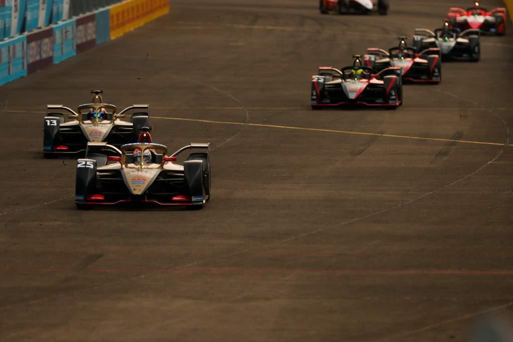 Jean-Eric Vergne Antonio Felix da Costa DS Techeetah Berlin Formula E 2020