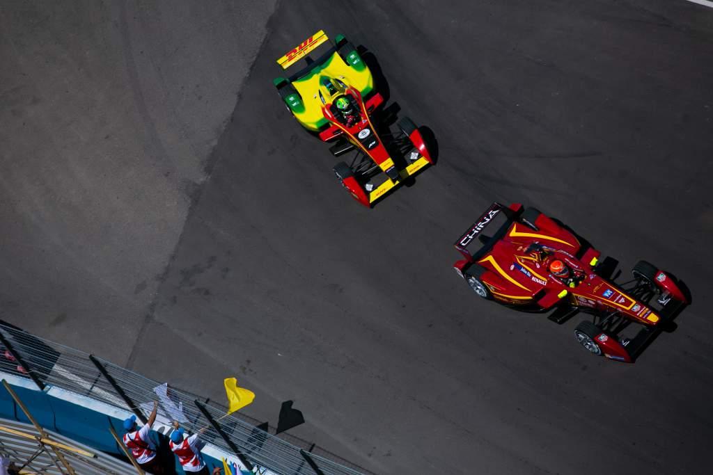 Nelson Piquet Jr Lucas di Grassi Formula E 2014