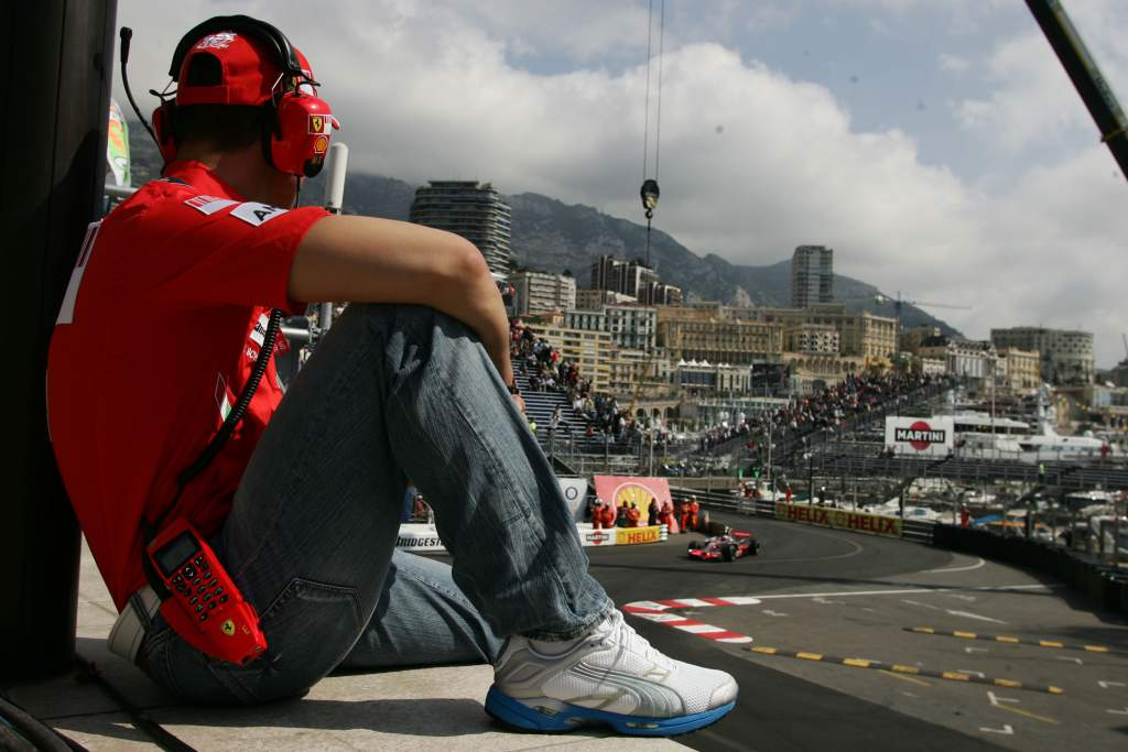 Michael Schumacher 2008