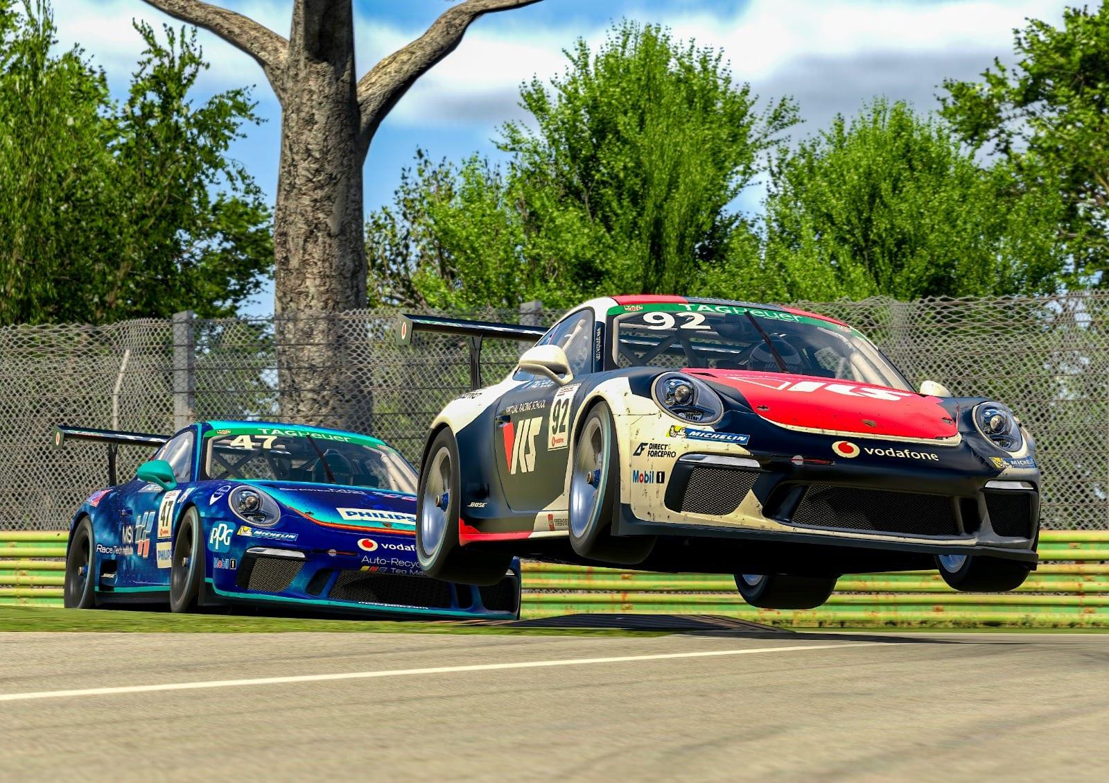 Porsche Esports 2021 R3 Rogers And Sanchez Pic