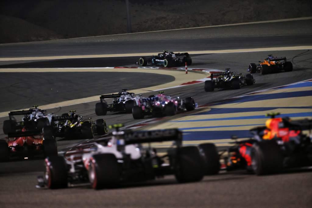 Motor Racing Formula One World Championship Sakhir Grand Prix Race Day Sakhir, Bahrain