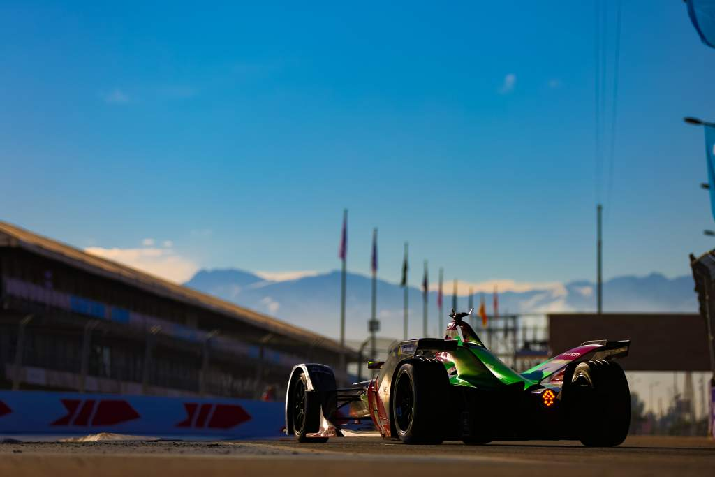 Nico Mueller Audi Formula E test