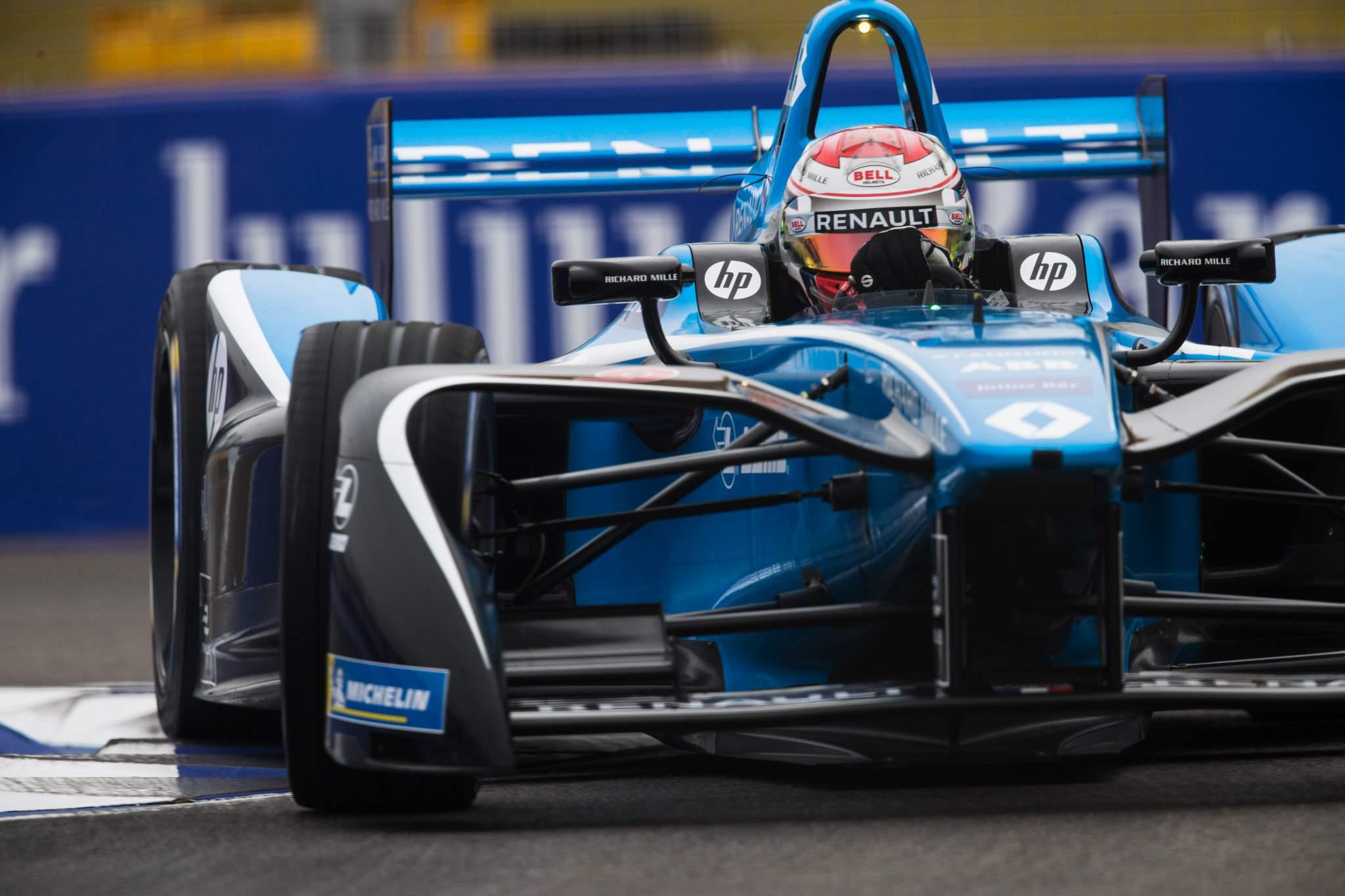 Alexander Albon Nissan Formula E test