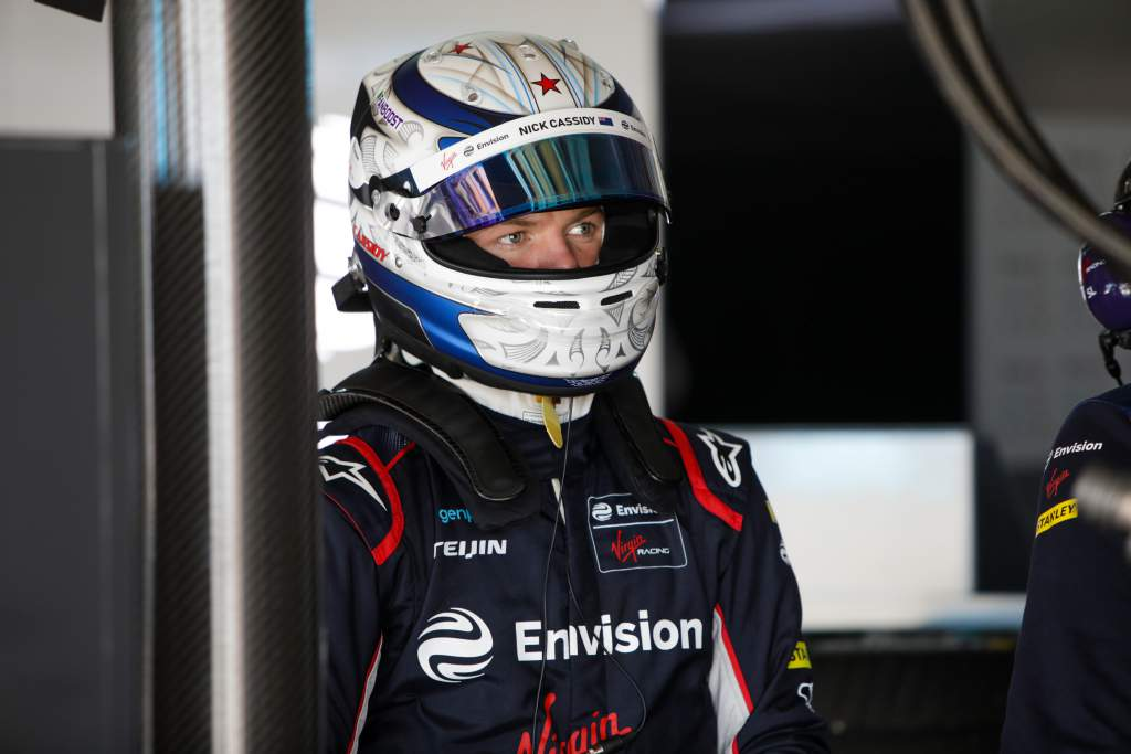 Nick Cassidy Envision Virgin Formula E test