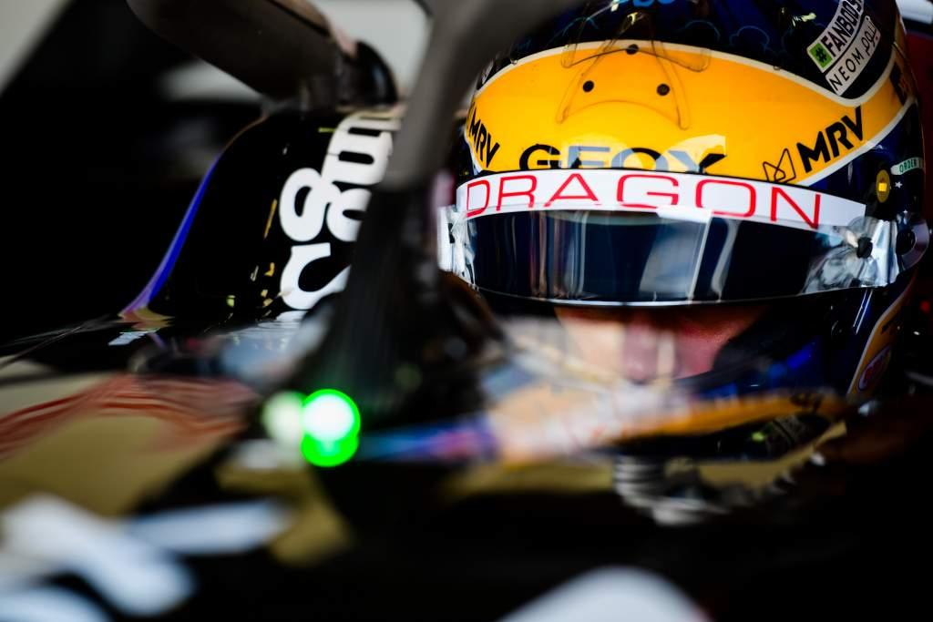 Sergio Sette Camara Dragon Formula E test