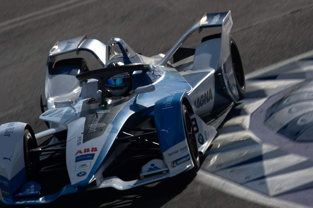 Marco Wittmann BMW Formula E test