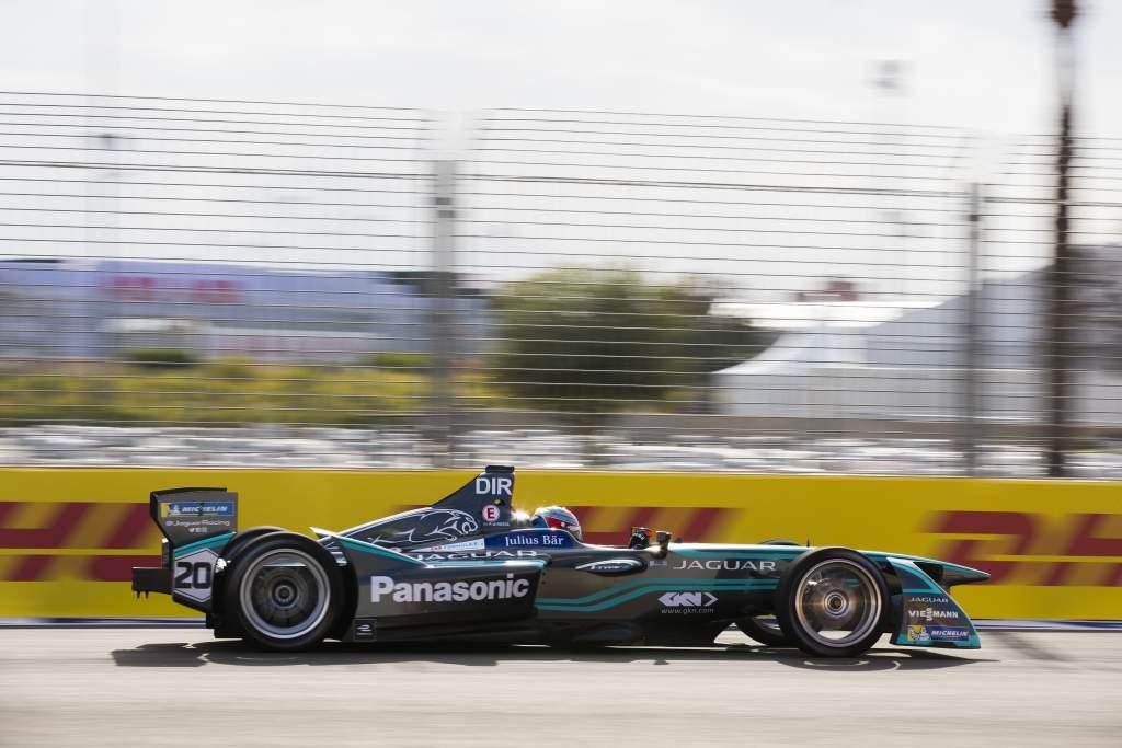 Paul di Resta Formula E testing