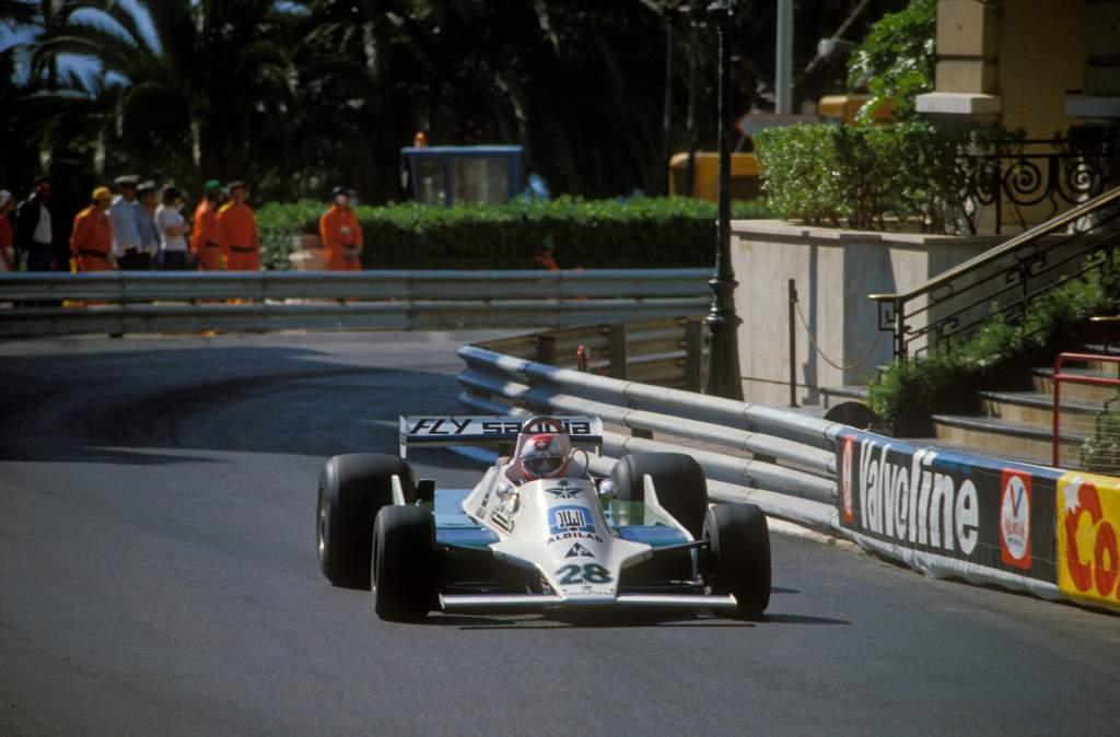 Clay Regazzoni Williams Monaco Grand Prix 1979