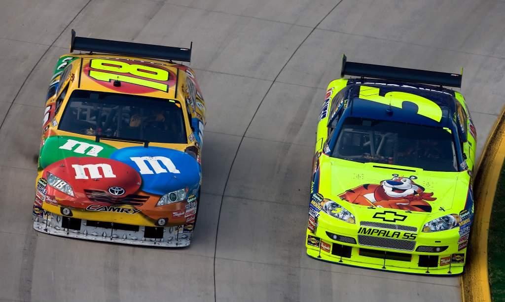 Kyle Busch Mark Martin NASCAR