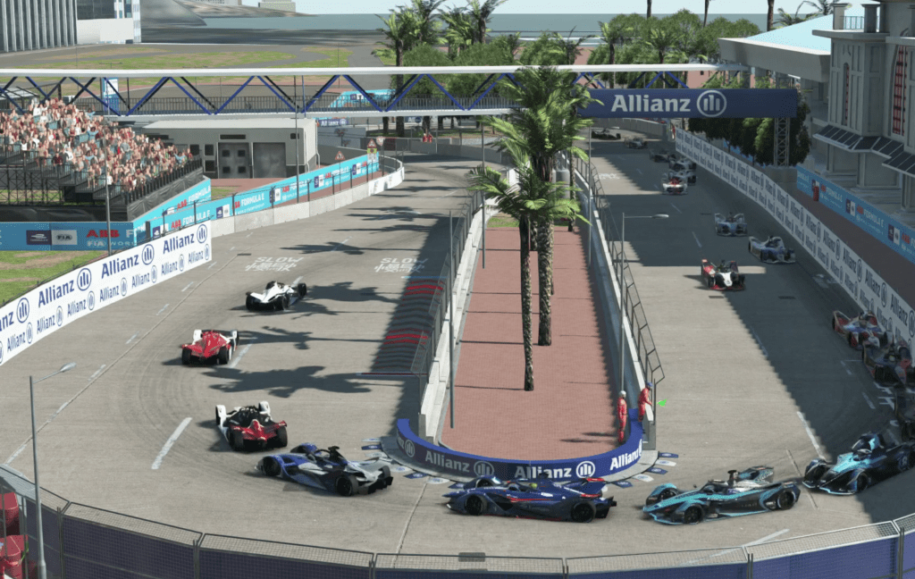 Fe Accelerate R2 Race Start