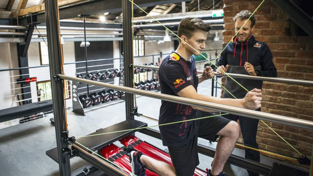 Red Bull Esports training Marcel Kiefer