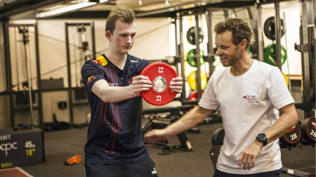 Rasmussen Red Bull Esports training