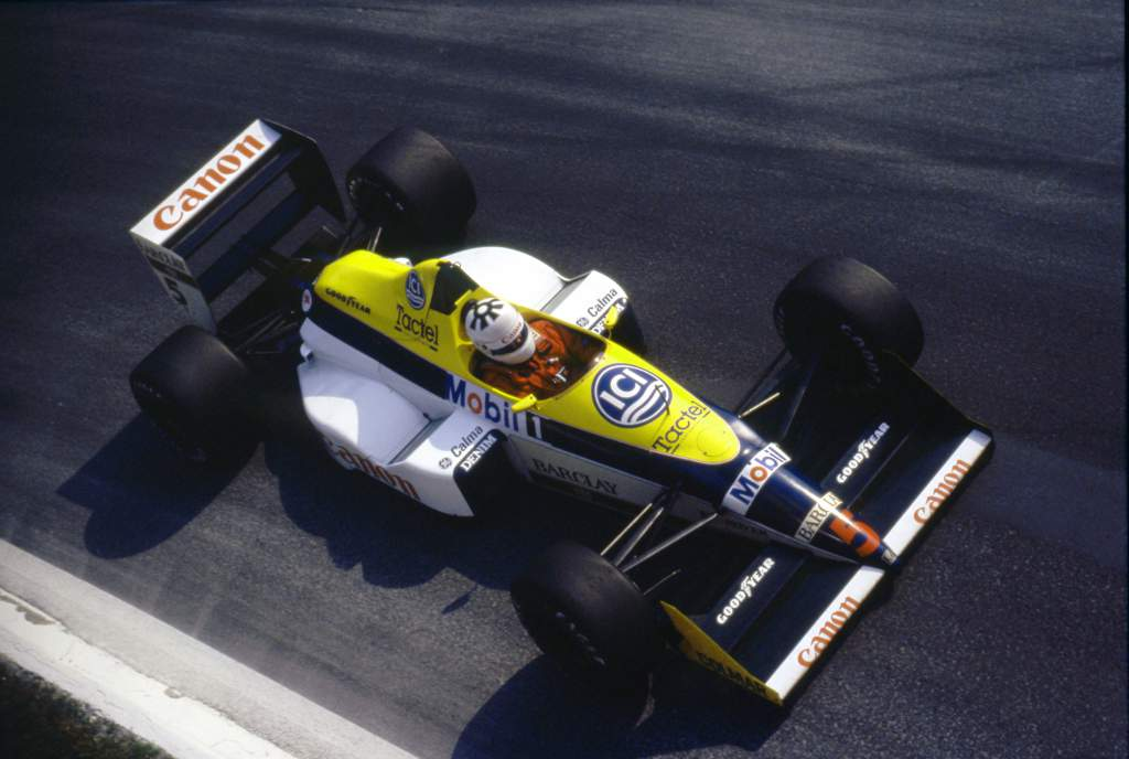 Jean-Louis Schlesser Williams F1