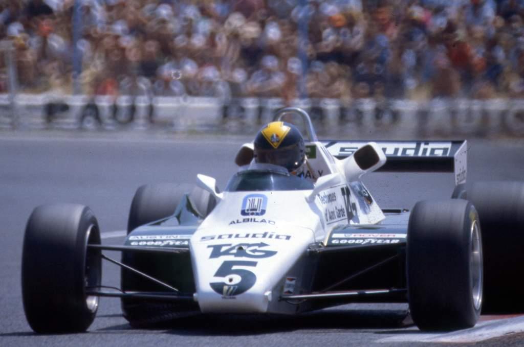 Derek Daly Williams F1