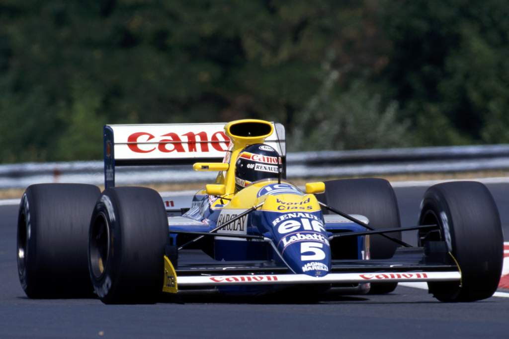 Thierry Boutsen Williams F1