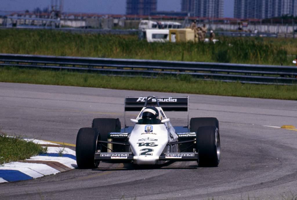 Jacques Laffite Williams F1
