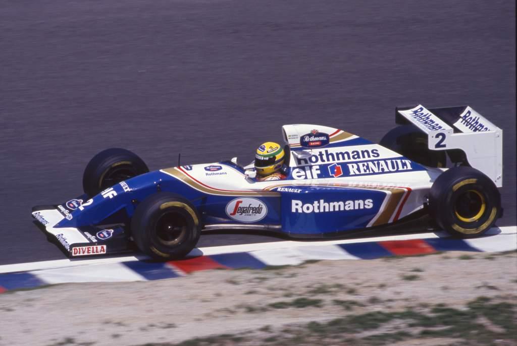 Ayrton Senna Williams F1