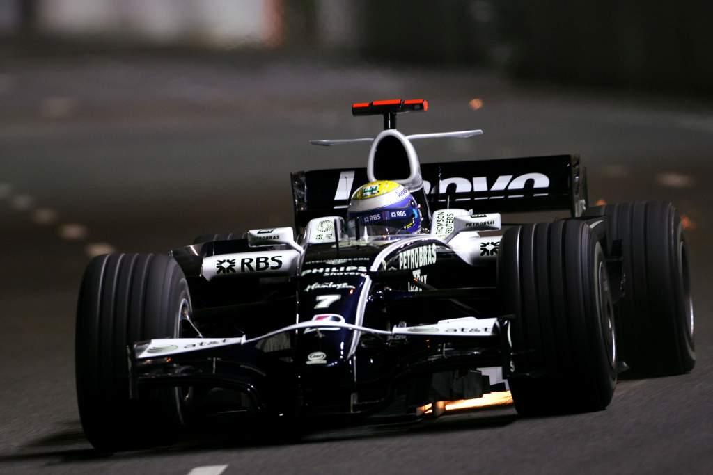 Nico Rosberg Williams F1