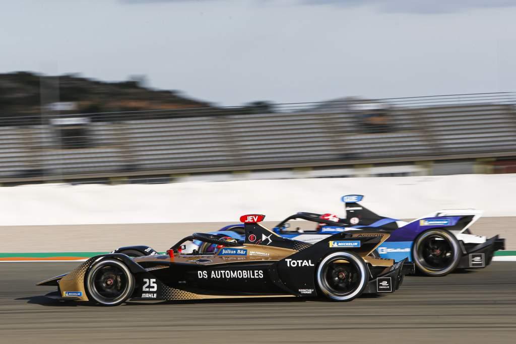 Jean-Eric Vergne DS Techeetah Formula E