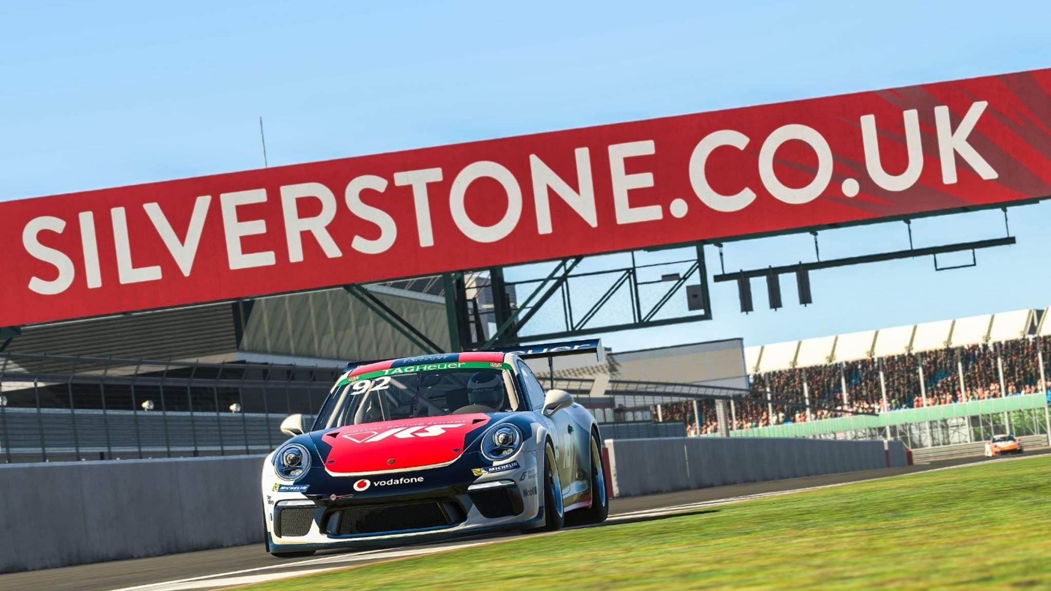 Josh Rogers Porsche Esports Silverstone