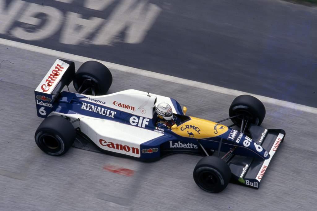 Riccardo Patrese Williams F1
