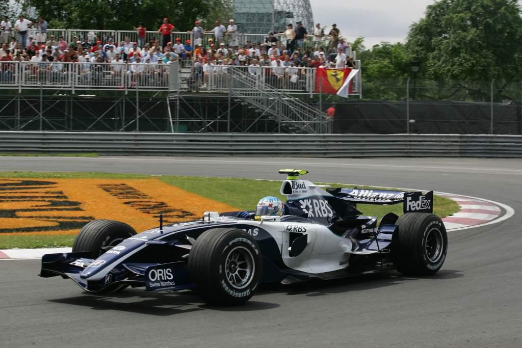 Alex Wurz Williams F1
