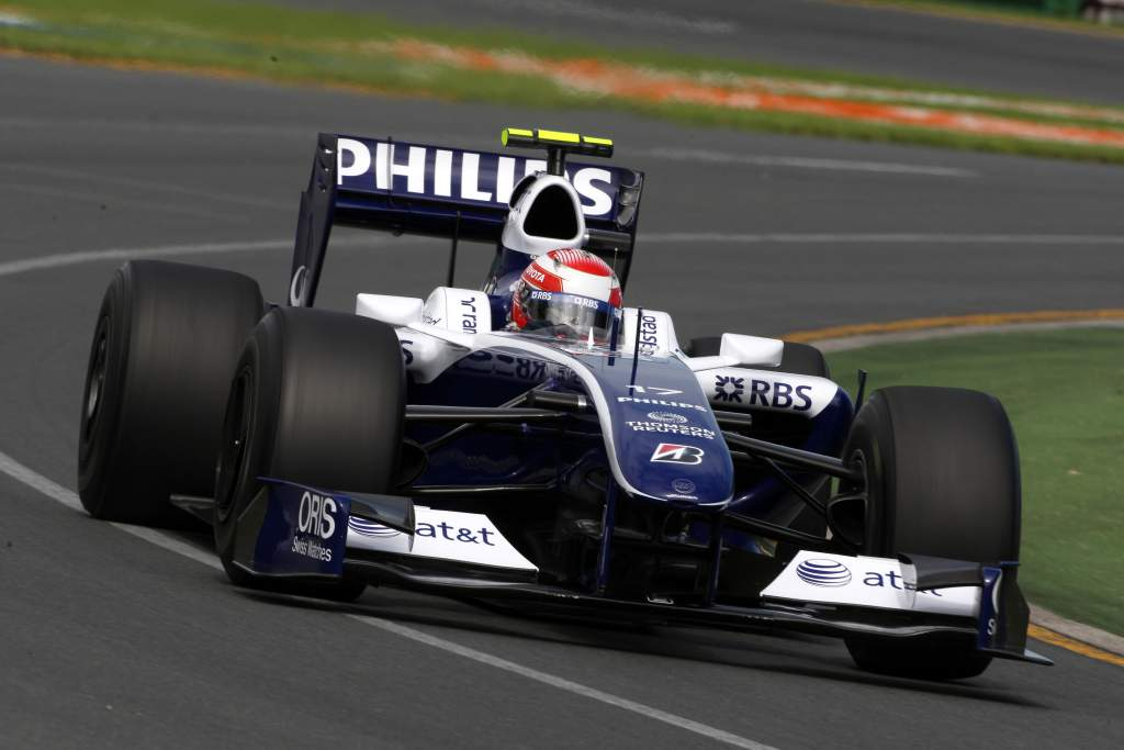 Kazuki Nakajima Williams F1