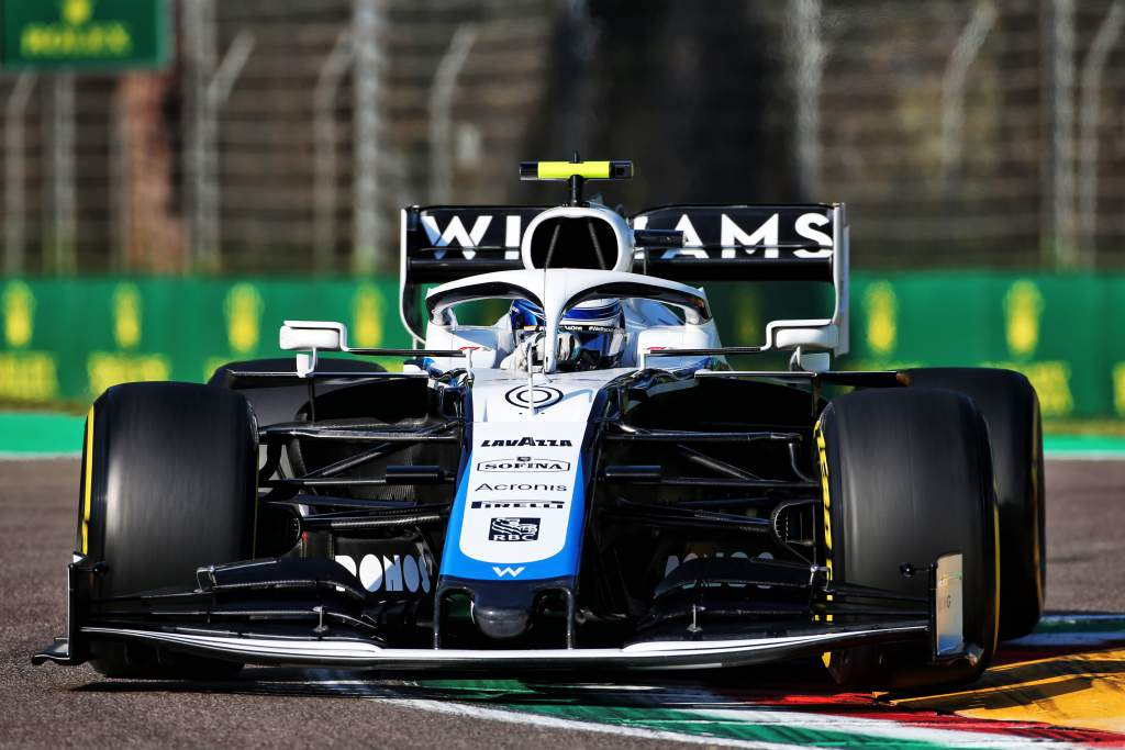 Nicholas Latifi Williams F1