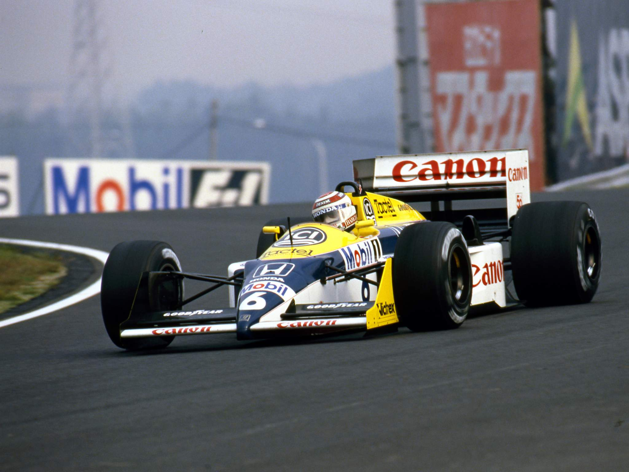 Nelson Piquet Williams F1