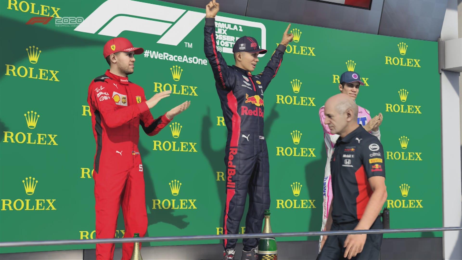 F1 2020 Game Adrian Newey Pic 1