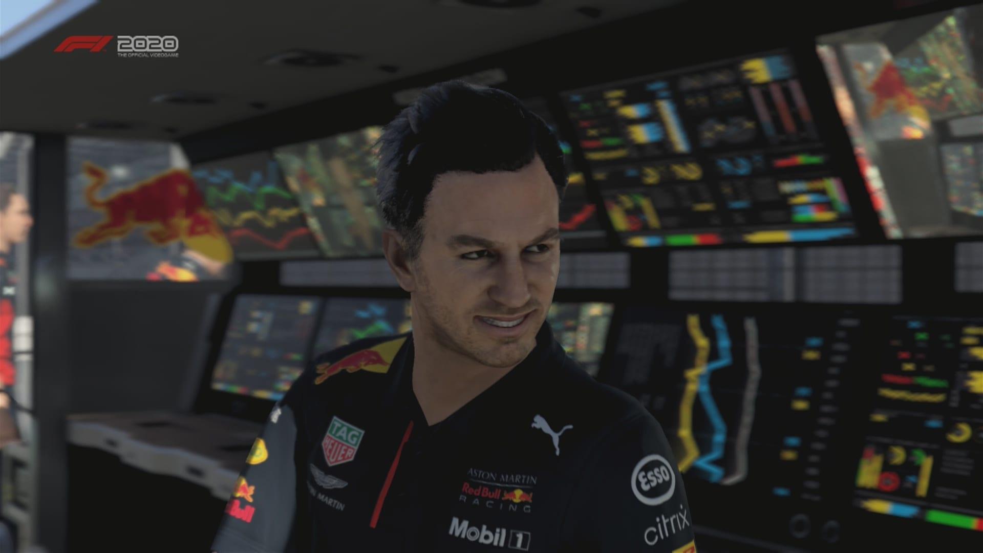 F1 2020 Game Christian Horner Pic