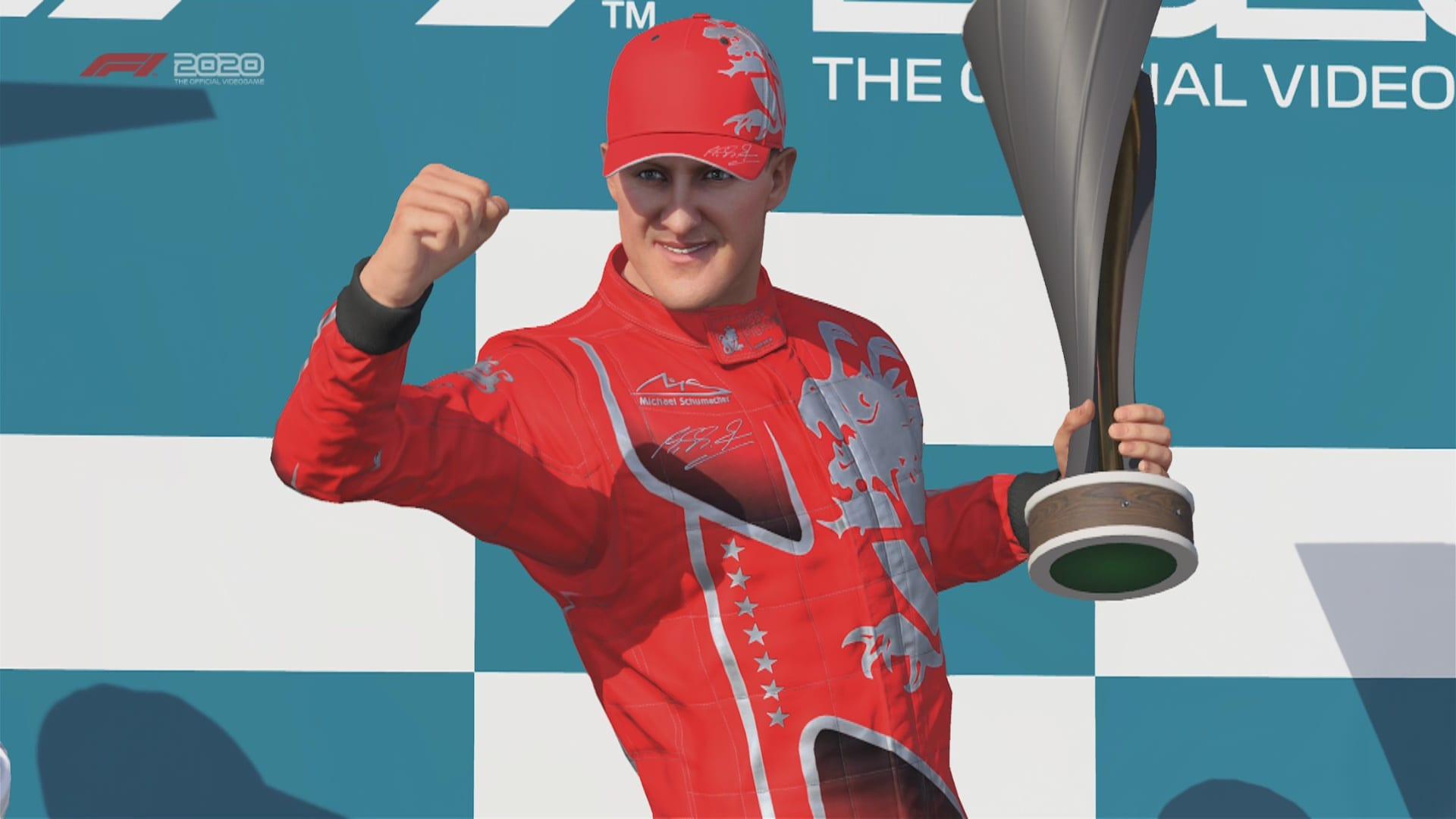 F1 2020 Game Schumacher Pic