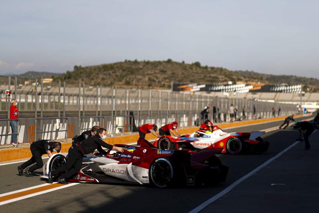 Dragon Formula E Valencia test