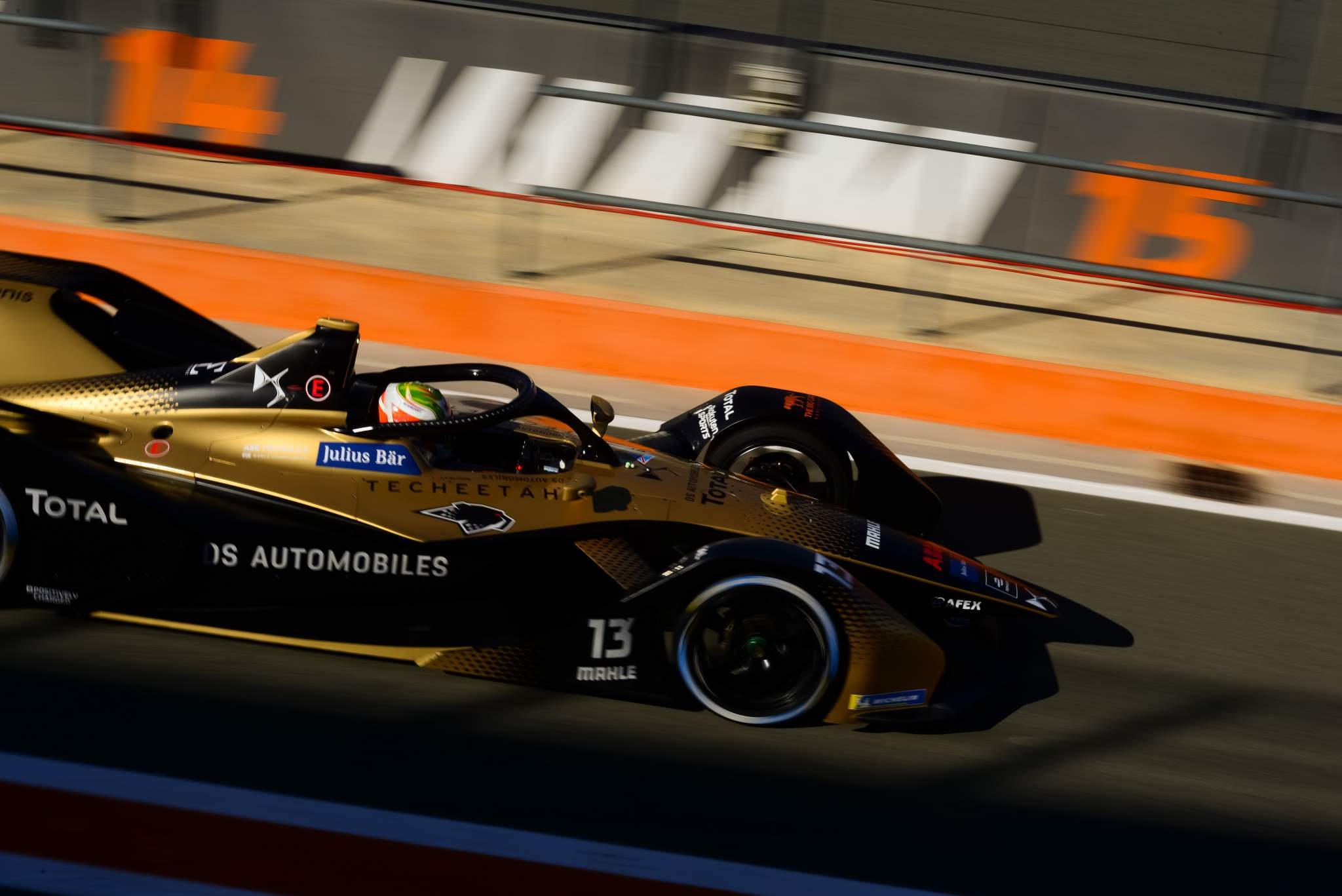 Antonio Felix da Costa DS Techeetah Valencia Formula E testing 2020