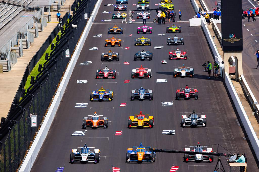 No Grosjean, but some extras - the Indy 500 entry list so far - The Race
