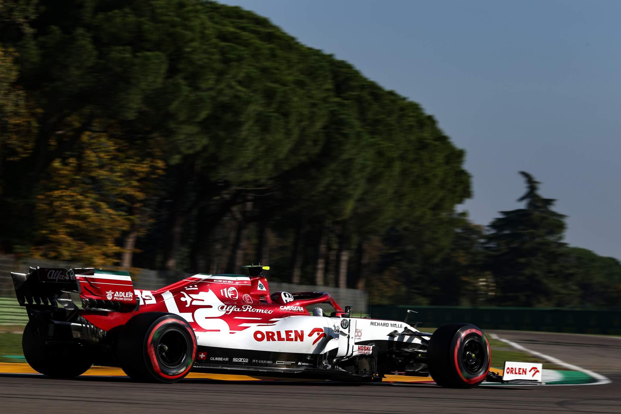 Antonio Giovinazzi Alfa Romeo Imola F1 2020