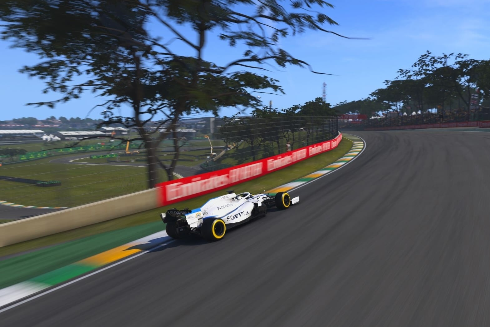 George Russell Williams F1 2020 Interlagos 2