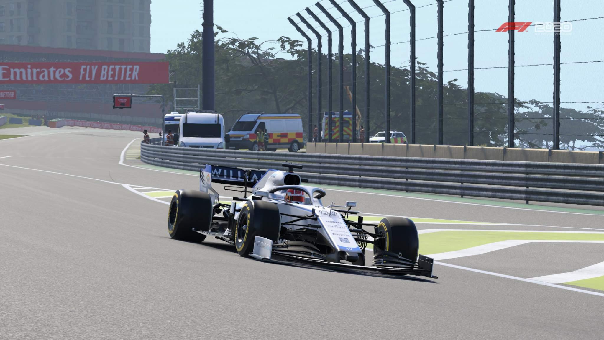F1 Virtual Gp R3 Russell Pic 1